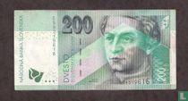 Slowakije 200 Korun 2002