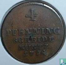 Brunswick-Luneburg-Calenberg-Hannover 4 pfennig 1794 (PLM)