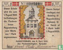 Augustenburg, Stadt 1 Mark 1920