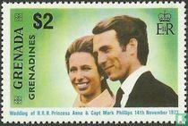 Hochzeit Prinzessin Anne und Mark Phillips