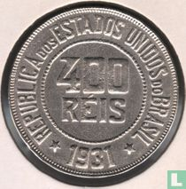 Brasilien 400 Réis 1931