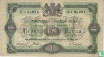 Schweden 1 Krone 1874