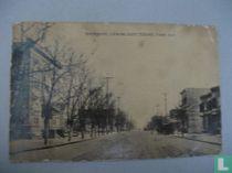 Broadway , Looking East , Ozone Park , N.Y.