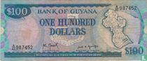 Guyana 100 Dollars ND (1989)