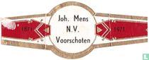 Joh. Mens N.V. Voorschoten - 1871 - 1971