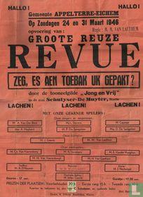 REVUE - TONEEL TABAK APPELTERRE 1946