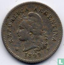 Argentina 10 centavos 1899