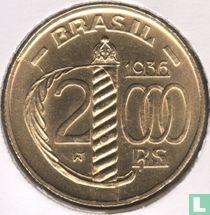 Brasilien 2000 Reis 1936