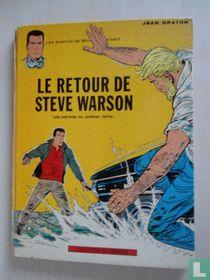 Le retour de Steve Warson