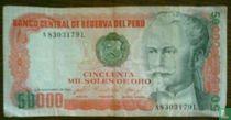 Peru 50.000 Sols de oro