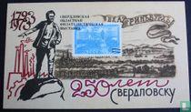 250 jaar stad Sverdlovsk