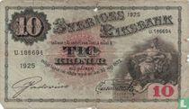 Schweden 10 Kronor 1925