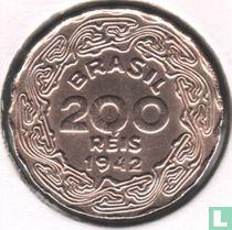 Brazilië 200 réis 1942