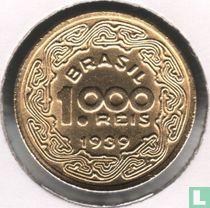 Brasilien 1000 Réis 1939