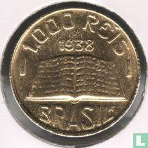Brasilien 1000 Réis 1938
