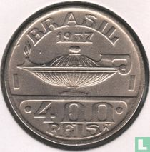 Brasilien 400 Réis 1937