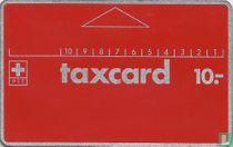 Taxcard 10.-