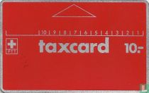 Taxcard 10.- Trees