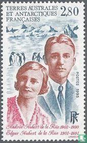 Andrée and Edgar Aubert de la Rüe