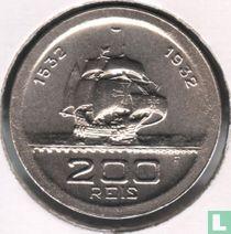 "Brasilien 200 Réis 1932 ""400th Anniversary of Colonization"""