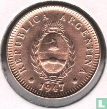 Argentina 2 centavos 1947 (cruder diework)