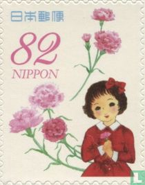 Greeting Stamps spring