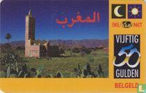 Landenkaart Marokko