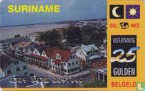 Landenkaart Suriname
