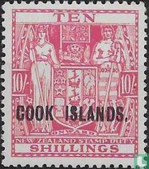 Briefmarken von Neuseeland mit Aufdruck
