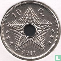 Belgian Congo 10 centimes 1911