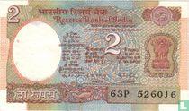 India 2 rupees (P79k)