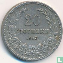 Bulgarije 20 stotinki 1913
