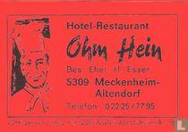 Ohm Hein - H. Esser