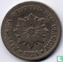 Uruguay 2 centésimos 1924