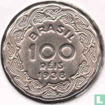Brazilië 100 réis 1938 (Getulio Vargas)