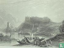 Zicht op het Fort van Hoei ( het Hollandse Fort )