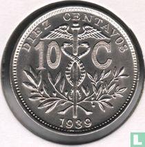 Bolivia 10 centavos 1939