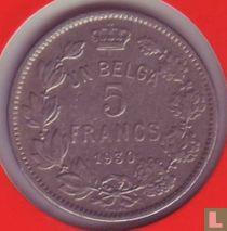 België 5 francs 1930 (FRA - medailleslag)