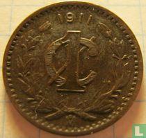 Mexico 1 centavo 1911 (breed jaartal)