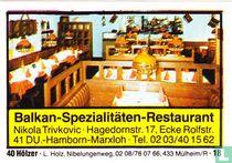 Balkan-Spezialitäten-Restaurant - Nikola Trivkovic