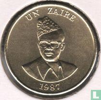 Zaïre 1 zaire 1987