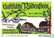 Gaststätte Rüdenstein - Lothar Meis