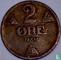 Norwegen 2 Øre 1912