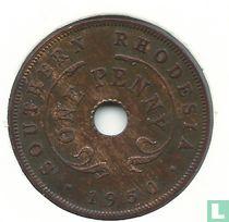 Zuid-Rhodesië 1 penny 1950