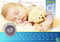 "Netherlands mint set 2015 ""Baby set boy"""