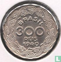 Brasilien 300 Réis 1940