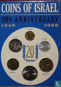 Israël jaarset 1968 (JE5728)