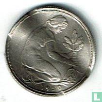Duitsland 50 pfennig 1950 (J)