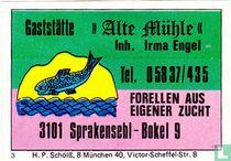 """Gaststätte """"Alte Mühle"""" - Irma Engel"""