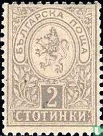 Heraldische Löwe